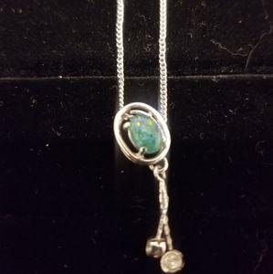 Jewelry - Sterling silver fire opal